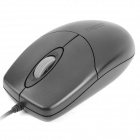 Rapoo M110 USB Wire 1000DPI Mouse - Black (130cm-Cable Length / 5V)