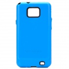 Designer's Protective Back Cover Case for Samsung i9100 - Blue