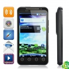"G17 Android 2.3 WCDMA TV Smartphone w/ 4.3"" SLCD Capacitive, Dual SIM, GPS and Wi-Fi - Black"