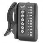 Clip-On Digital Guitar Tuner Acústico - Preto (1 x CR2032)