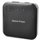 Portable 2000mAh Mobile External Power Battery Pack w/ Adapters