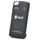 Rechargeable 1800mAh External Battery Back Case with Speaker for iPhone 4 / 4S