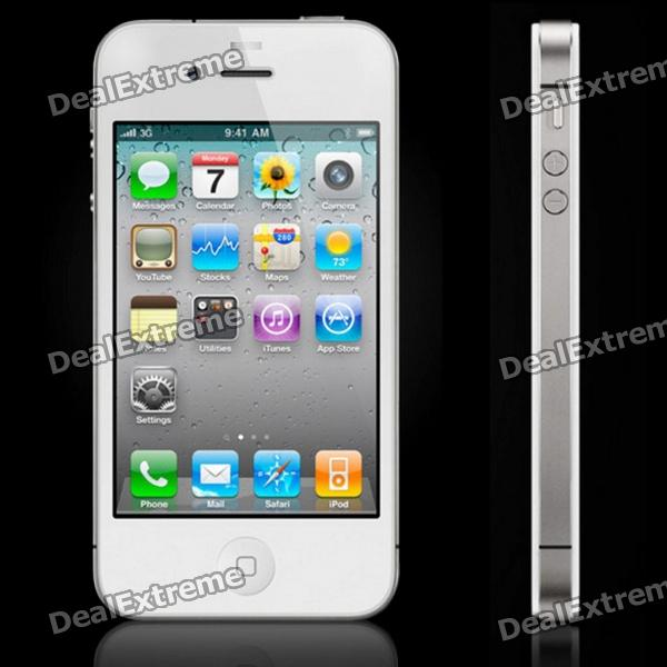 Iphone 4S iOS5 WCDMA Smartphone w/3.5