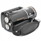 "Solar Powered 5.0MP Digital Video Camcorder w/ 8X Digital Zoom / AV-out / SD / HDMI(3.0"" LTP/ NP-40)"