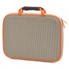 "Anti-Shock Protective Bag for 14.1"" Laptop Notebook - Beige + Orange"