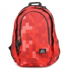 "Protective Casual Travel Backpack Bag for 14.5"" Laptop Notebook - Red"