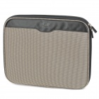 "Anti-Shock Protective Bag for 14"" Laptop Notebook - Black + Beige"