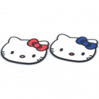 Cute Hello Kitty Style Silicone Cup Heat Insulation Pads (Pair)