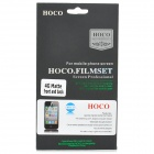 Protective Matte Screen Protector Guard Film for iPhone 4S - Transparent