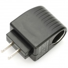 AC 100~240V to DC 12V Car Cigarette Lighter Power Adapter for Amazon Kindle Fire - Black