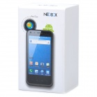 "Neobox android 2.3.4 WCDMA smartphone w / 3.8"" IPS capacitif, double sim, wi-fi et GPS - noir"