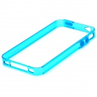 Pisen Protective PC Bumper Frame Case for Iphone 4 - Blue