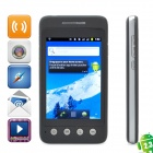 "W861 android 2.3 WCDMA smartphone w / 3.5"" IPS capacitif, double sim, wi-fi et GPS - noir"