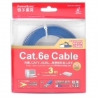 POWERSYNC Cat.6e RJ-45 cable de red plana trenzado (300cm)