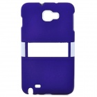 Protective ABS Back Case for Samsung i9220 - Purple