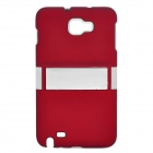 Protective ABS Back Case for Samsung i9220 - Red