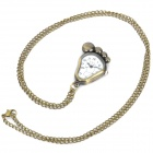 Antiquing Cute Cartoon Foot Style Pocket Watch with Chain - Bronze (1 x 377S)