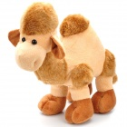 Cute One-humped Camel Figure Plush Doll Toy - Light Coffee