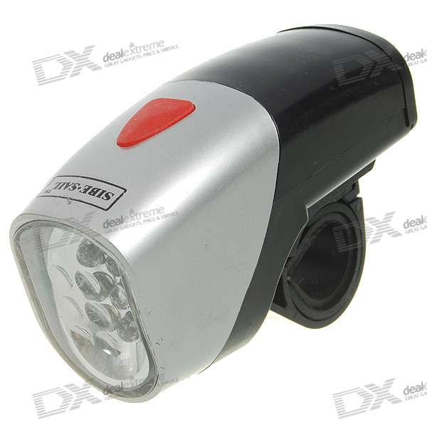 Front-Mount 6-LED Bicycle Lamp (3*AAA)