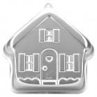 Wonder House Style Aluminum Alloy Cake Pan Mold - Silver