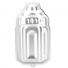 Kreative Baby Bottle Style-Aluminium-Legierung Backform Mold - Silber