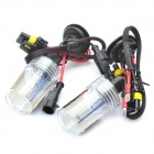 H1 35W 8000K 3200LM HID Bluish White Light Xenon Headlamps (DC 12V / Pair)