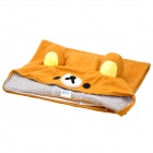Cute Rilakkuma Bear Style Keep Warm Mantle Cloak - Yellow