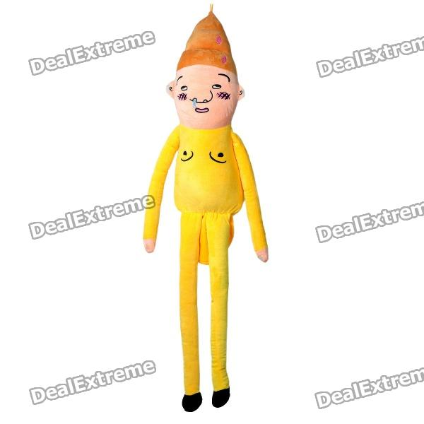 Funny Wretched Snivel Japanese Uncle Figure Plush Doll Toy - Yellow от DX.com INT