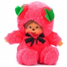 Cute Monchhichi Figure Plush Doll Toy - Pink