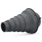 Conical Snoot with Honeycomb for Studio Light - Black