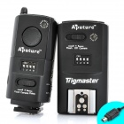 APUTURE Trigmaster Wireless Flash Trigger Transmitter Receiver Set for Nikon D80 / D70S