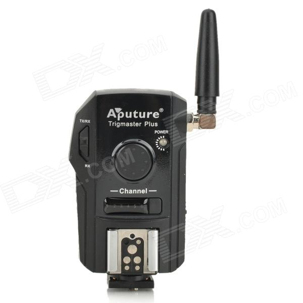 APUTURE TX1C Trigmaster Plus Wireless Remote Flash Trigger for Canon EOS 550D / 500D + More wired remote shutter release for canon eos30 eos33 pentax samsung more