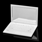 Creative Sony Laptop Notebook Style Mini Cosmetic Makeup Pocket Mirror - White