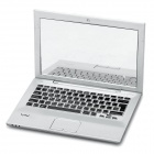 Creative Sony Laptop Notebook Style Mini Cosmetic Makeup Pocket Mirror - Silver