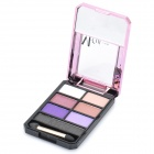M.rui Tragbare Kosmetik Make-Up 7-Farben Lidschatten-Kit