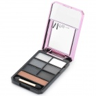 M.rui Portable Cosmetic Make-Up 7-Color Eye Shadow Kit