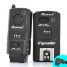 APUTURE Trigmaster Wireless Flash Trigger Transmitter Receiver Set for Sony Alpha A500 + More