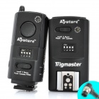 APUTURE Trigmaster Wireless Flash Trigger Transmitter Receiver Set for Nikon D300S + More