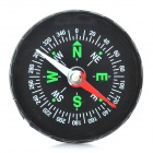 Outdoor Camping Travel Portable Compact Compass - Black