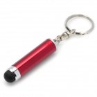 Capacitive Screen Stylus Pen Keychain for Iphone - Red