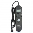 "APUTURE 1.0"" LCD Wired Timer Remote Shutter Release for Canon EOS 1100D / 60D + More (1 x CR2032)"