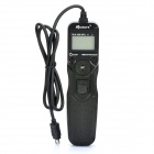 "APUTURE 1.3"" LCD Wired Timer Remote Shutter Release For Nikon D5100 / D3100 + More (2 x AAA)"
