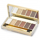 M.rui Tragbare Kosmetik Make-Up 6-Color Eye Shadow Kit