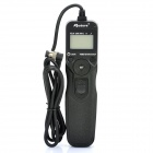 "APUTURE 1.3"" LCD Wired Timer Remote Shutter Release for Nikon D3X / Fujifilm S5 Pro + More (2 x AAA)"