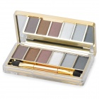 M.rui Portable Cosmetic Make-Up 6-Color Eye Shadow Kit