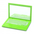 Creative Sony Laptop Notebook Style Mini Cosmetic Makeup Pocket Mirror - Green