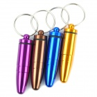 Unique Bullet Style Keychain with Small Gadgets Holder - Random Color