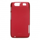 ROCK Protective PC Back Case w/ Screen Protector / Cleaning Cloth for Motorola MT917 - Wine Red
