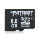PATRIOT Micro SD / TF Card - 8GB (Class 4)