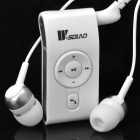 W-Sound MX-360 2.4GHz Bluetooth V2.1 Handsfree Receiver w/ Earphone Kit - White
